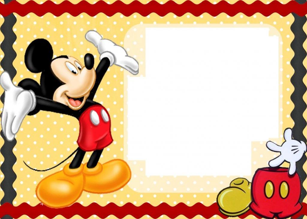Disney's Mickey Mouse Clip Art Border