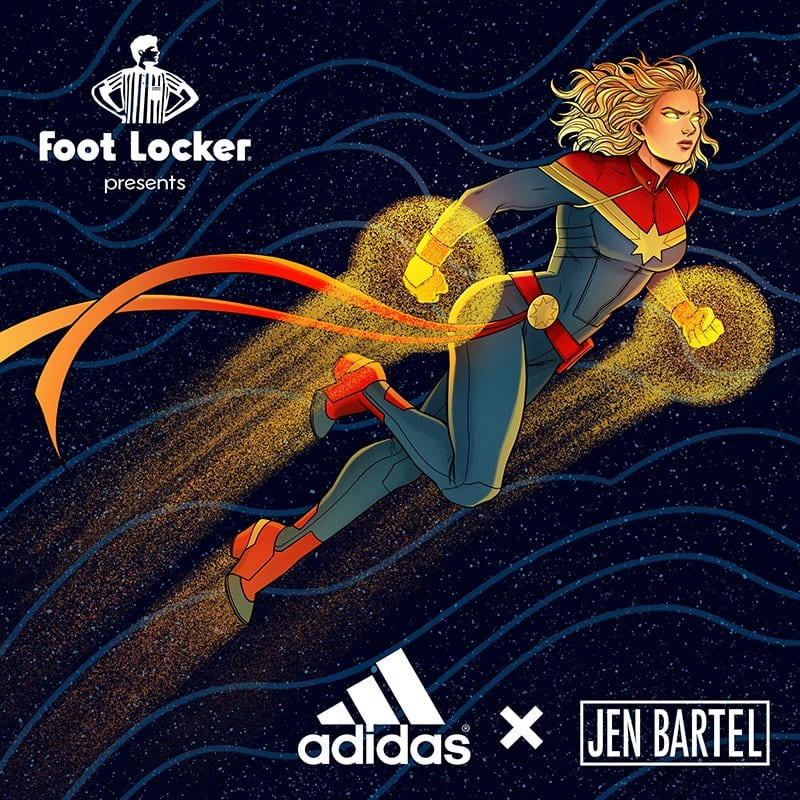 New Adidas Captain Marvel Shoe