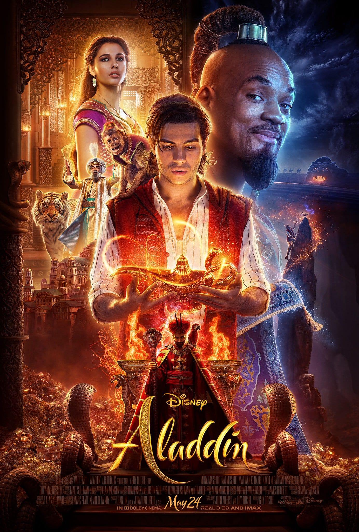 Disney's Live-Action Aladdin Brand New Poster