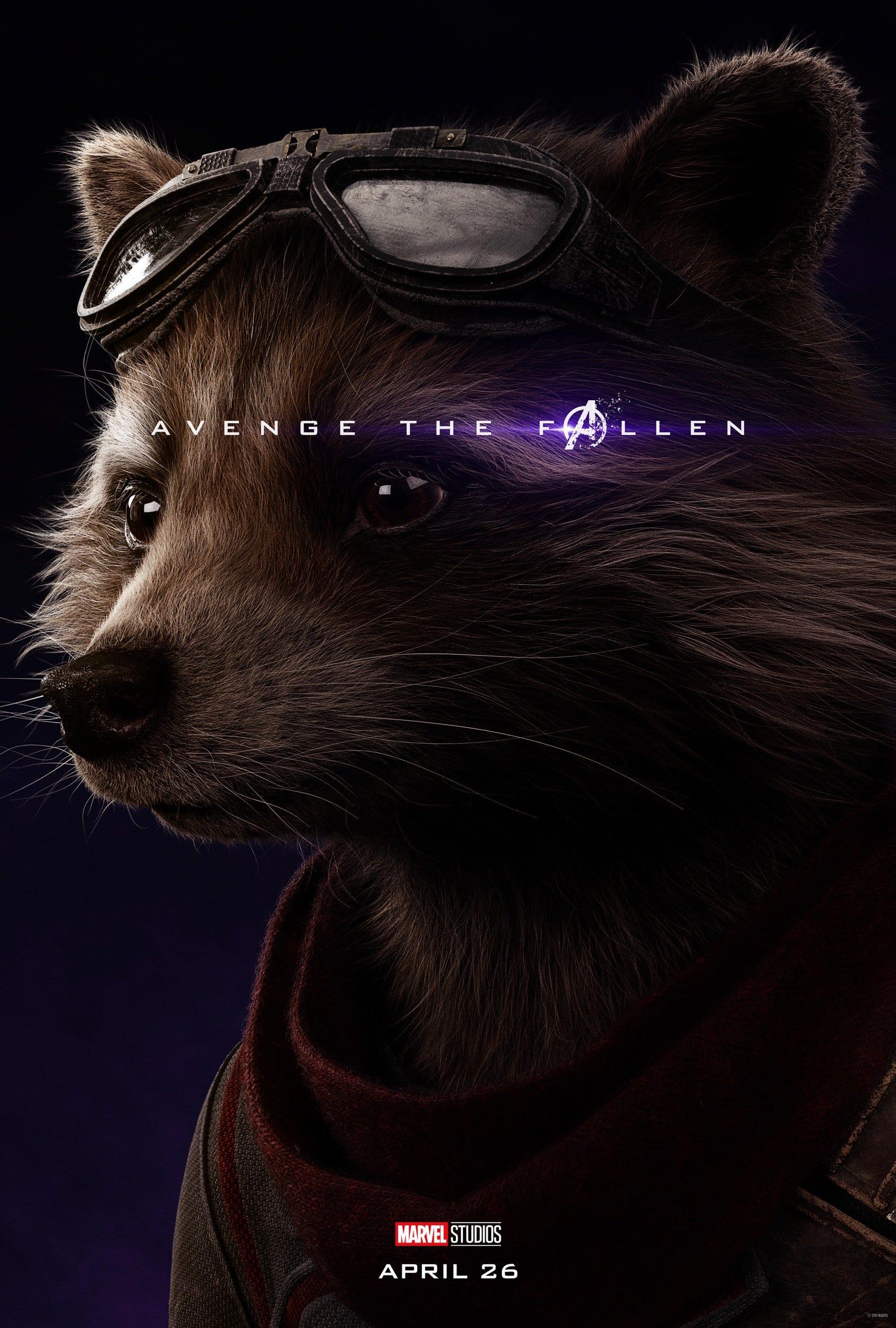 Rocket Raccoon: Avenge the Fallen Series (Source: Marvel)