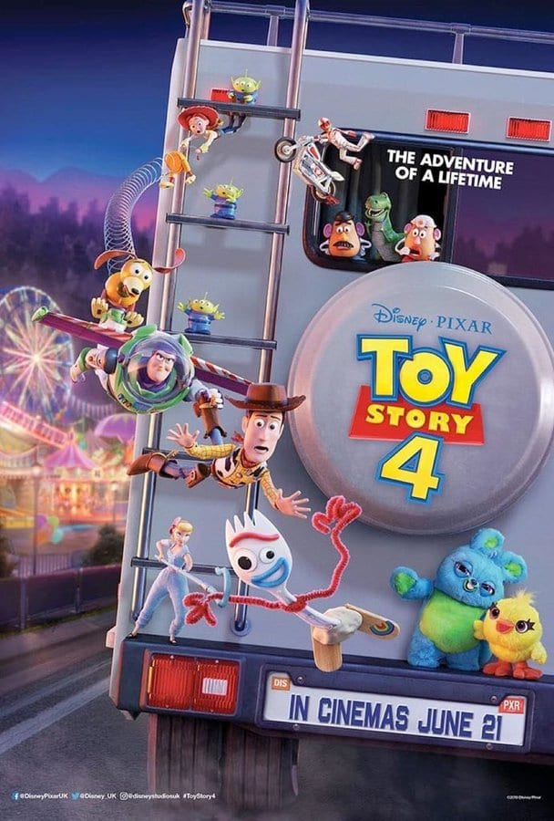 Brand New International Posters for Toy Story 4
