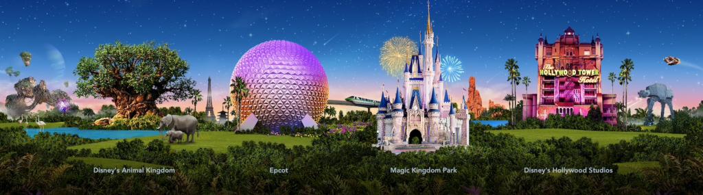 Disney World Theme Parks