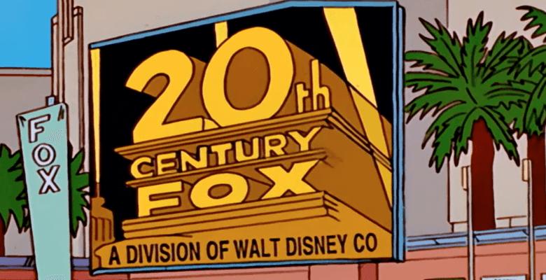 Disney Fox Deal (Source: The Simpsons)