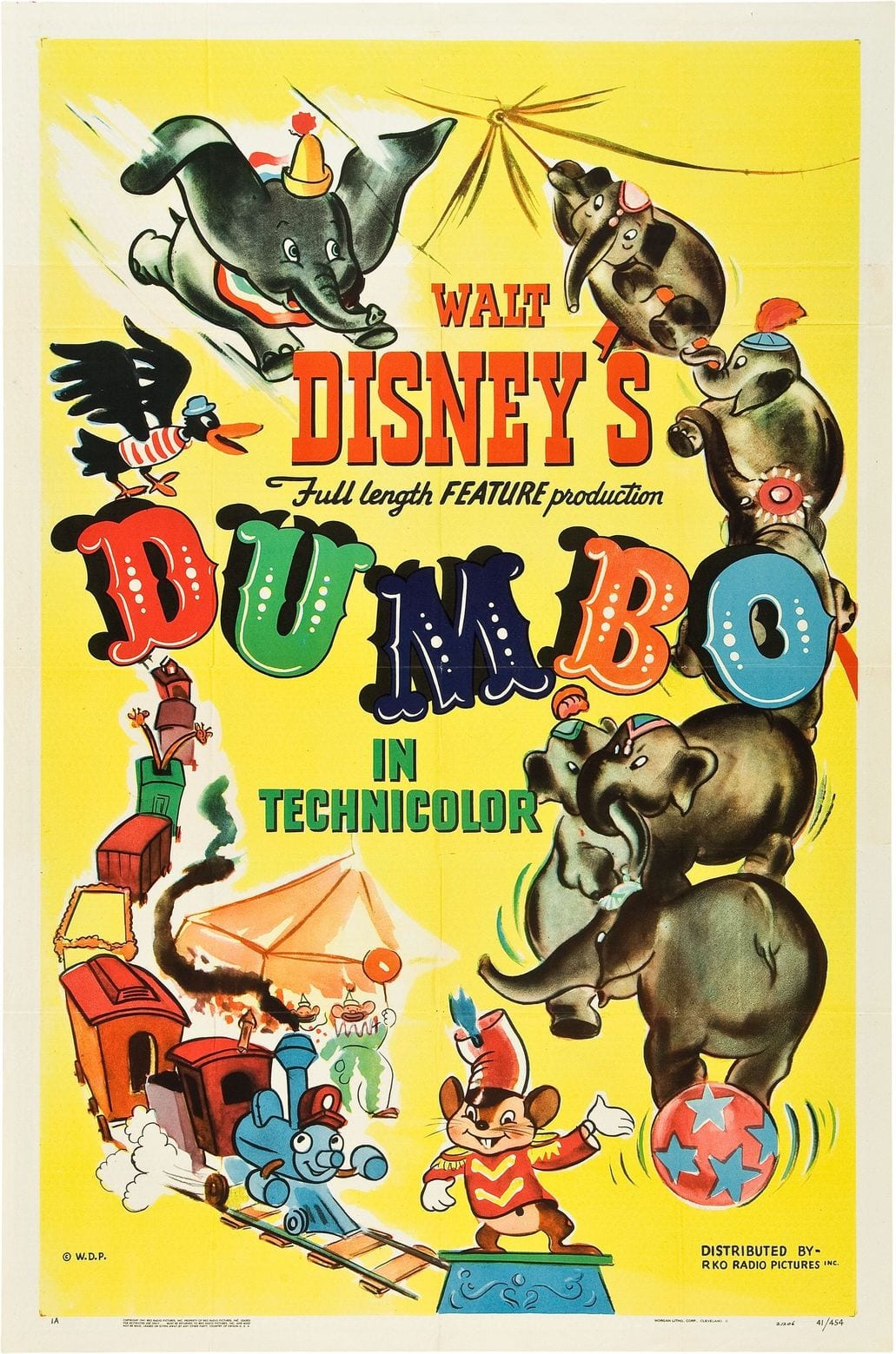 Dumbo Poster (1941) -- Which Dumbo Character Are You?