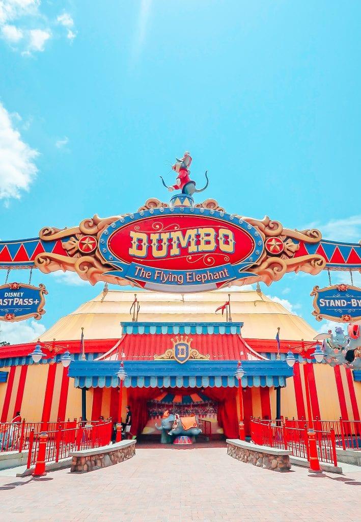 Dumbo at Walt Disney World