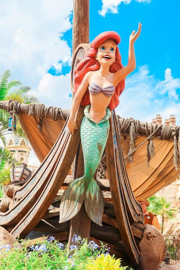 The Little Mermaid at Walt Disney World