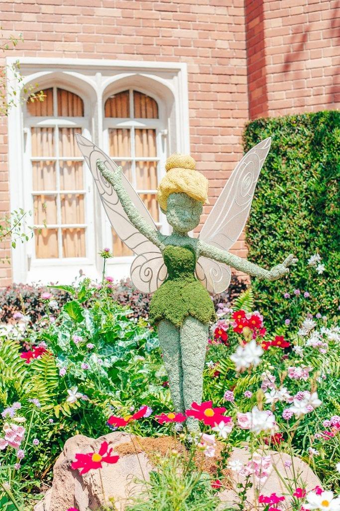 Tinker Bell at Walt Disney World