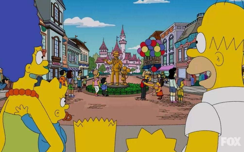 The Simpsons Join the Disney Family