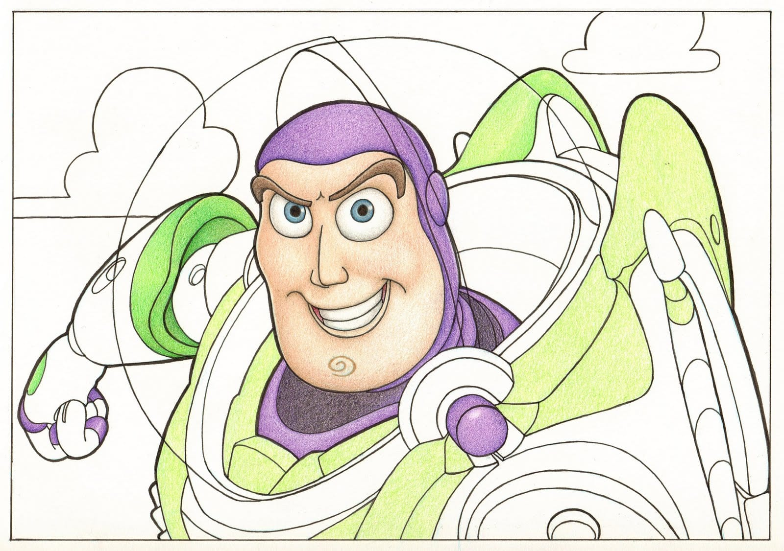 Buzz Lightyear Coloring Books, Pages, and Sheets