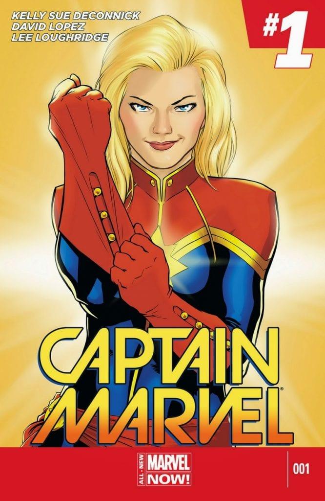 Captain Marvel Comics #1