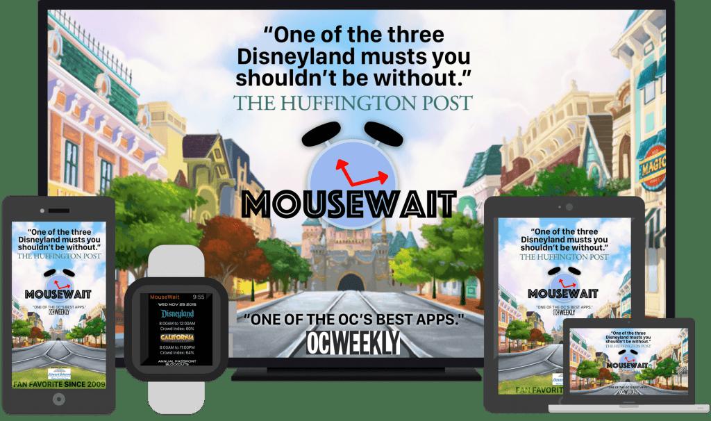 Mouse Wait Disneyland Crowd Level Calendar