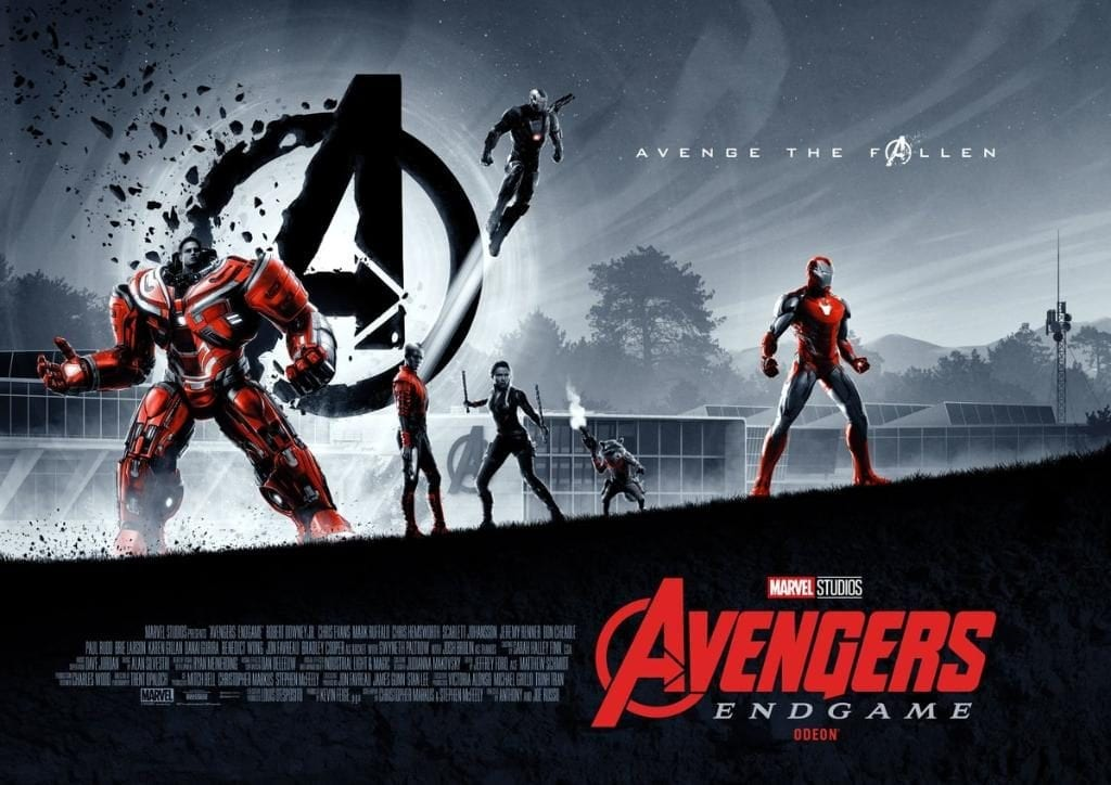Avengers: Endgame Mini-Posters (Source: @Marvel on Twitter)