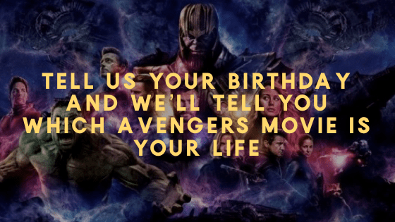 Birthday Avengers Quiz
