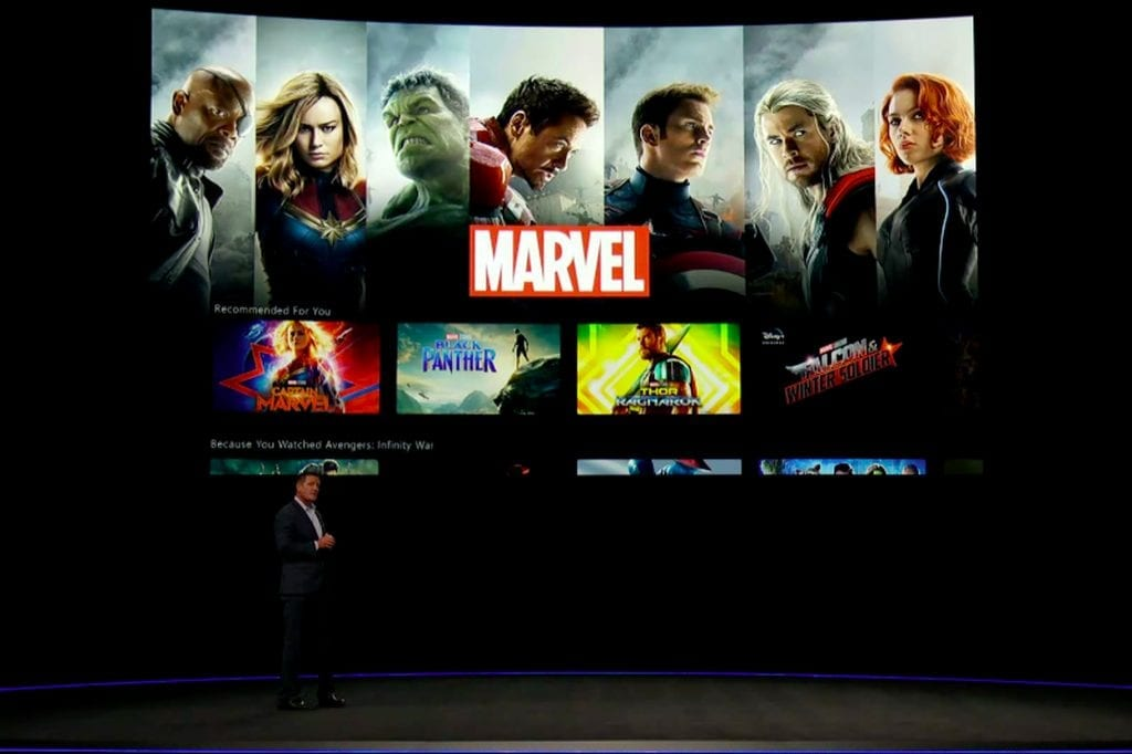 First Look at Disney+ Marvel
