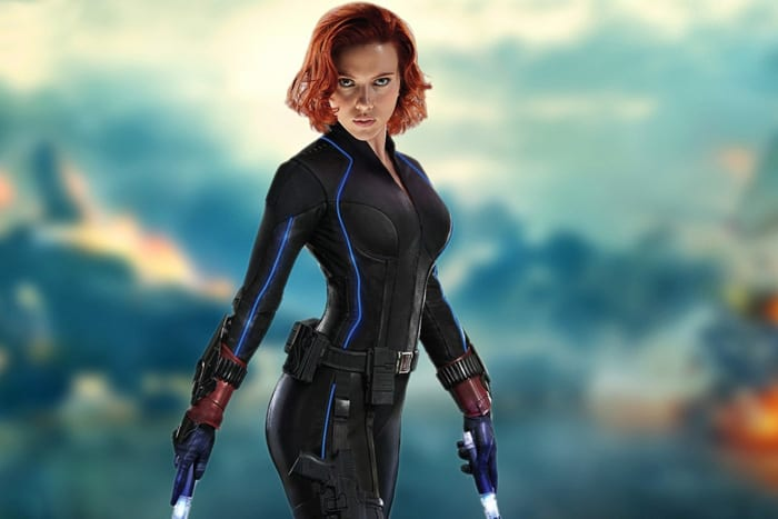 Scarlet Johansson as Black Widow (Source: Marvel)
