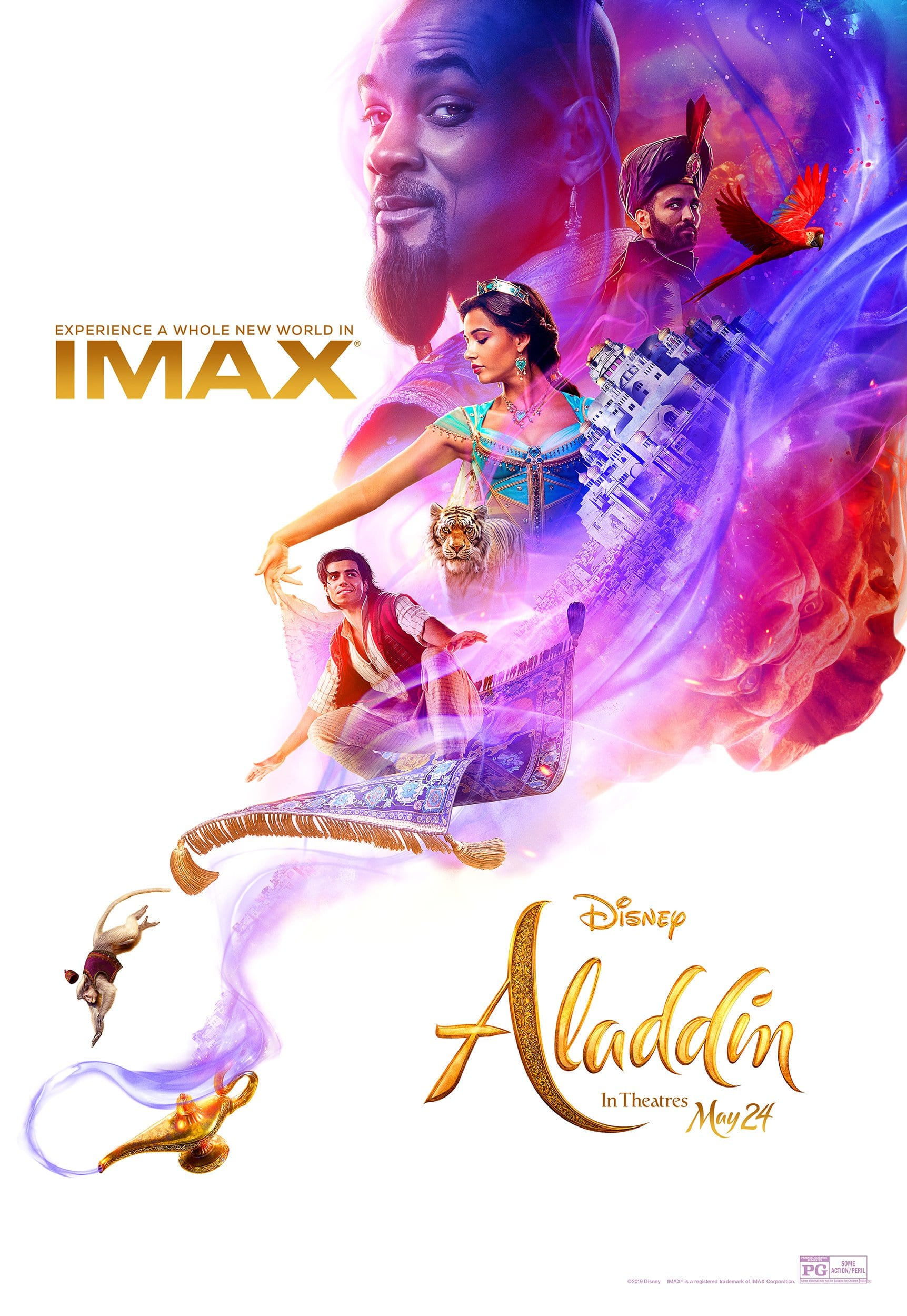 Aladdin Live-Action Poster for IMAX