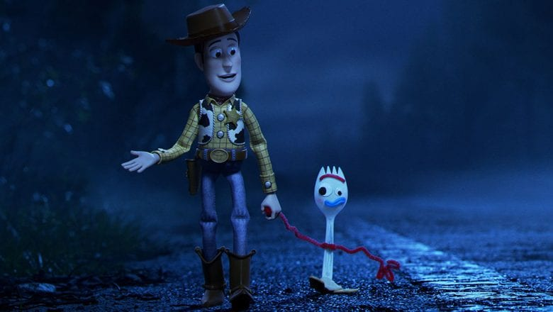 Woody and Forky in Toy Story 4 (Source: Disney/Pixar)