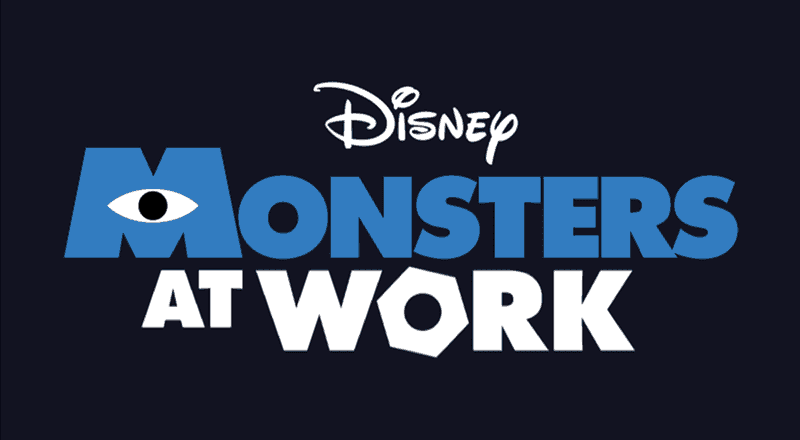 'Monsters at Work' Logo