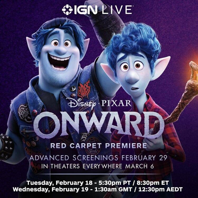 IGN LIVE Pixar's Onward Premiere