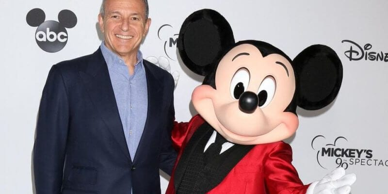 Bog Iger Stepping Down as Disney CEO