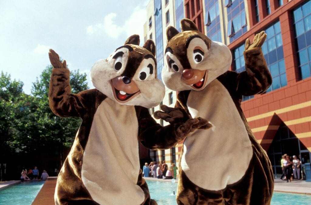 "Chip and Dale Ask, ""What's the difference between a blockout and a blackout?"""