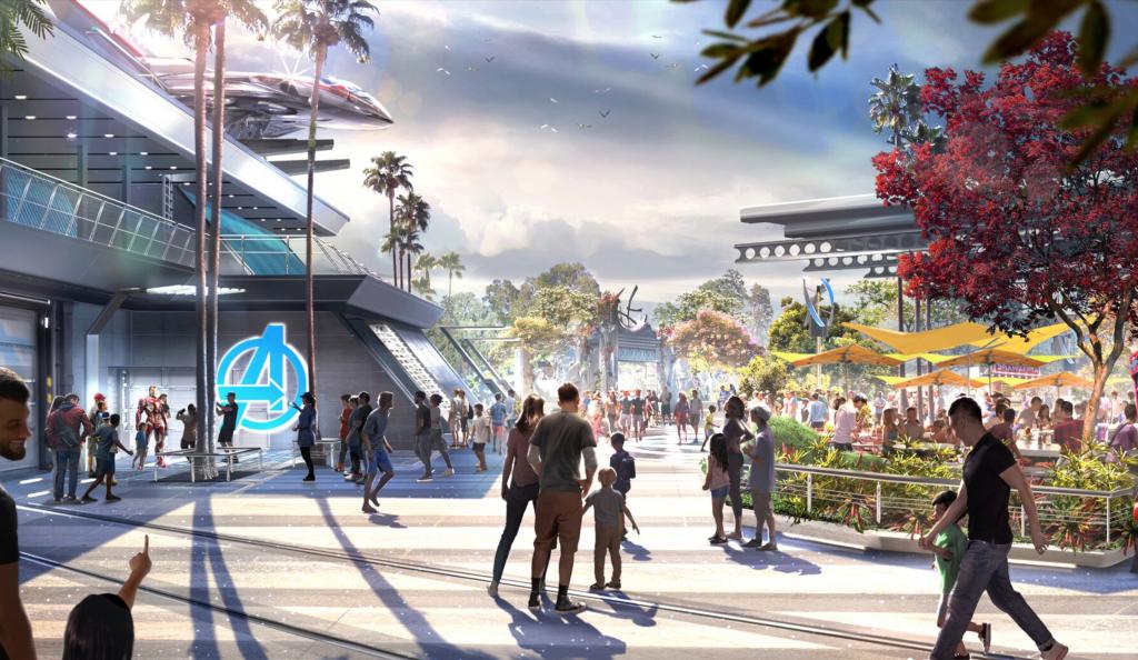 Avengers Campus Marvel Land Disneyland