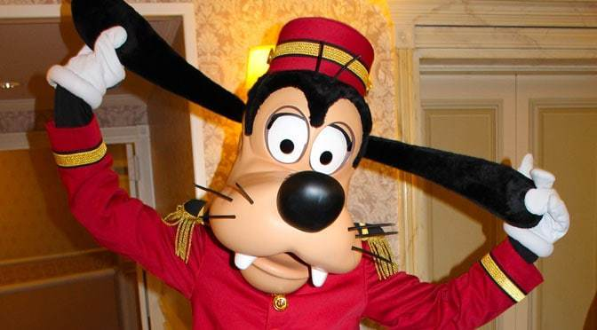 "Goofy Says, ""Don't worry! You can always make the most of an unexpected situation!"" [Source: Kenny the Pirate]"