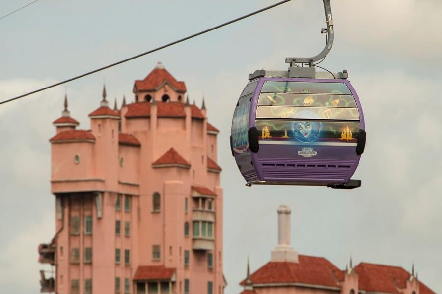 Walt Disney World Skyliner Gondolas [Source: Disney]