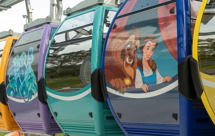 The Complete Guide to Walt Disney World Skyliner Gondolas [Source: Disney]