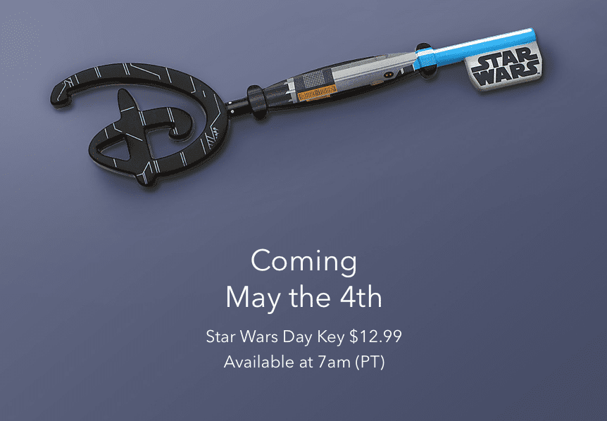 May the 4th Star Wars Day Key [Source: Shop Disney]