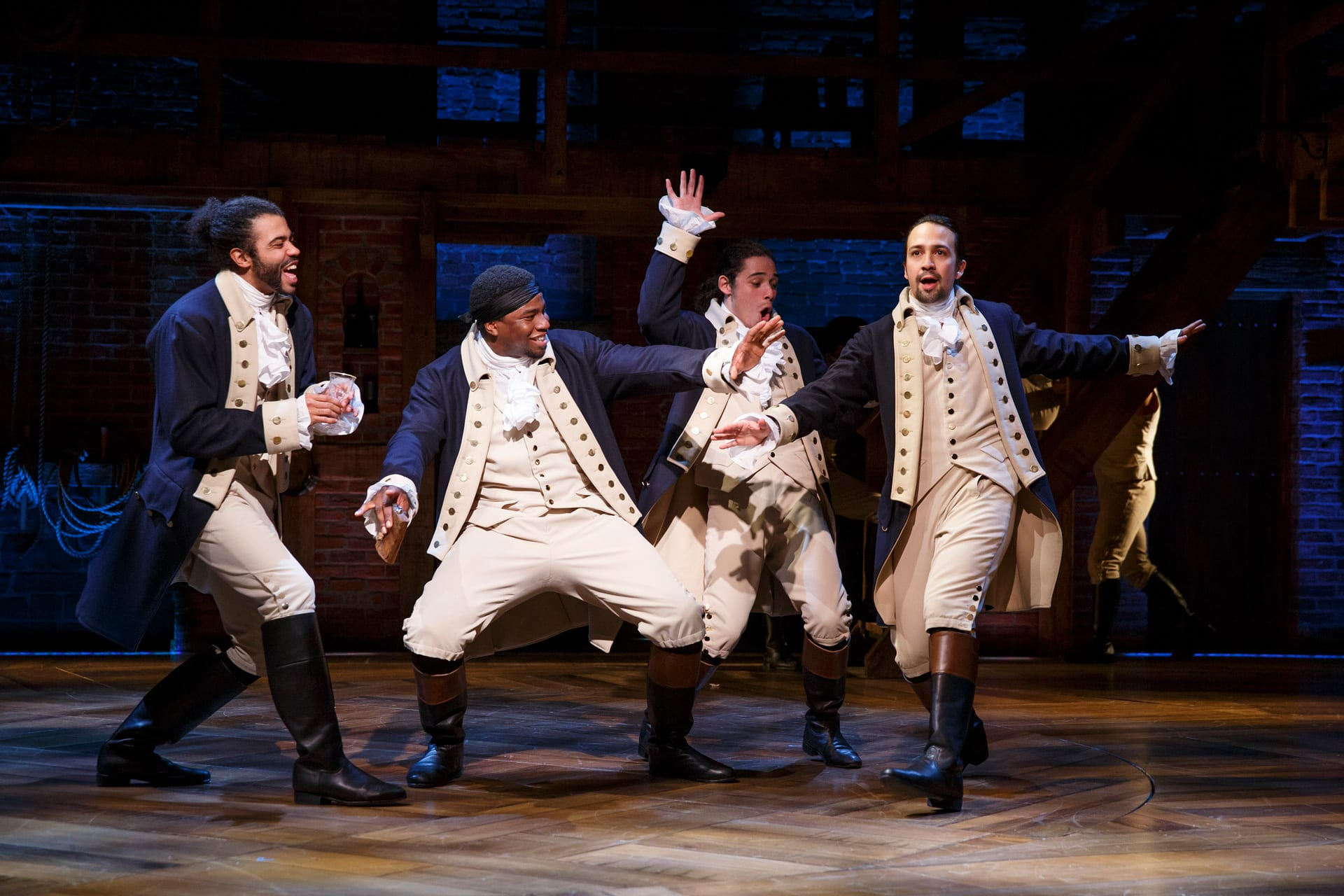 Lin-Manuel Miranda's 'Hamilton' to be Available on Disney Plus Starting July 3 [Source: The Walt Disney Company]