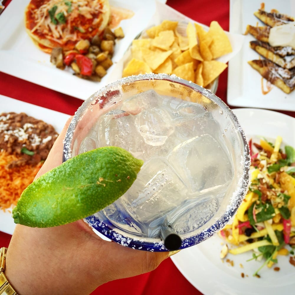 Margaritas and Mexican dishes at Tortilla Jo's Downtown Disney