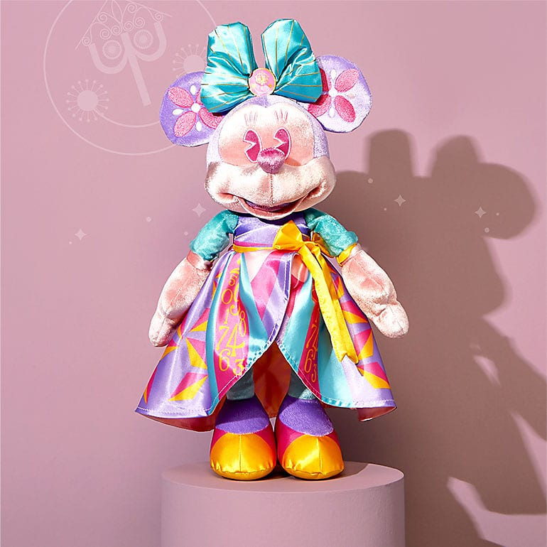 April 2020 - Minnie Mouse It's a Small World Collection