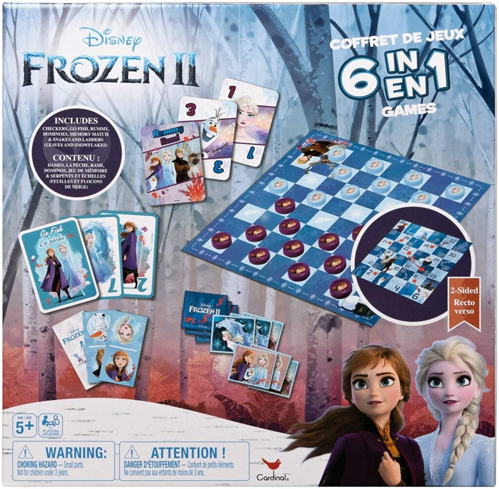 Disney Frozen 2 Game House 6-in-1