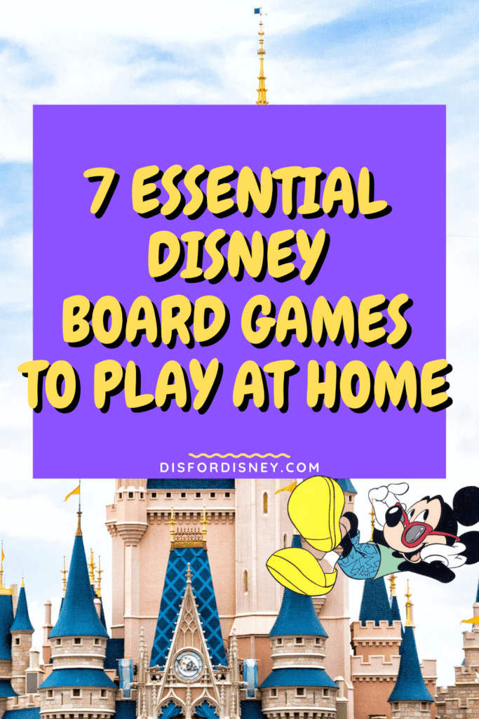 7 Essential Disney Board Games to Play at Home