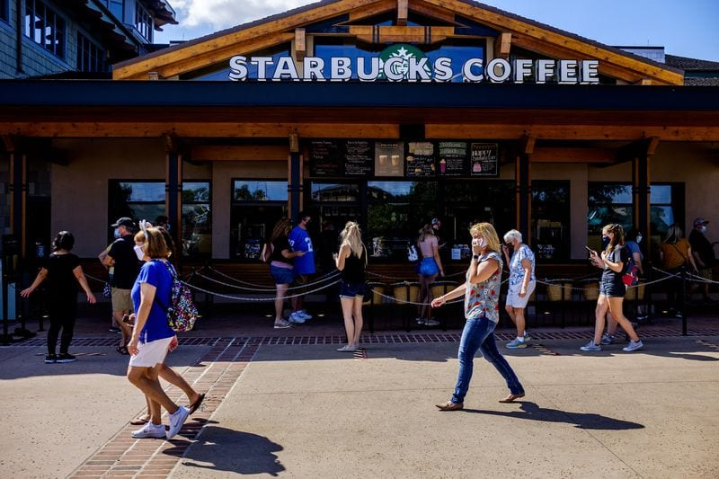 Starbucks Coffee at Disney Springs [Source: Orlando Sentinel]