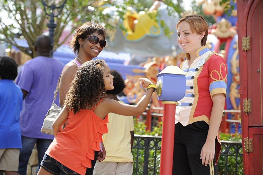 Magic Bands at Dumbo [Source: Disney Parks Blog]