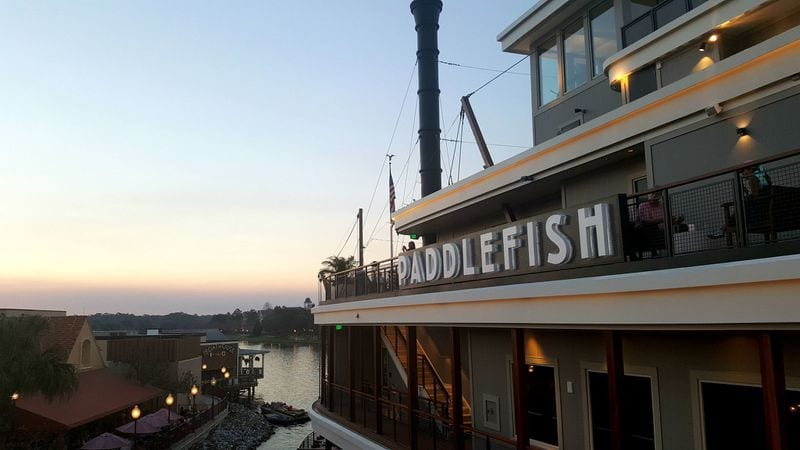 Seafood Feast on a Steamboat at Paddlefish Disney Springs