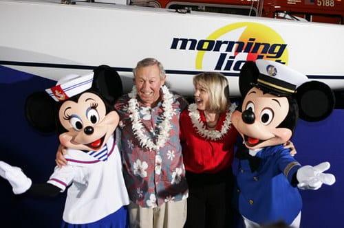 Roy E. Disney and Leslie DeMeuse Disney