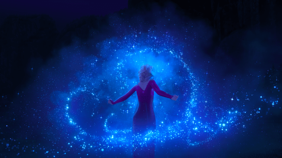 A Snapshot of Elsa from the Frozen 2 Movie [Source: Disney]