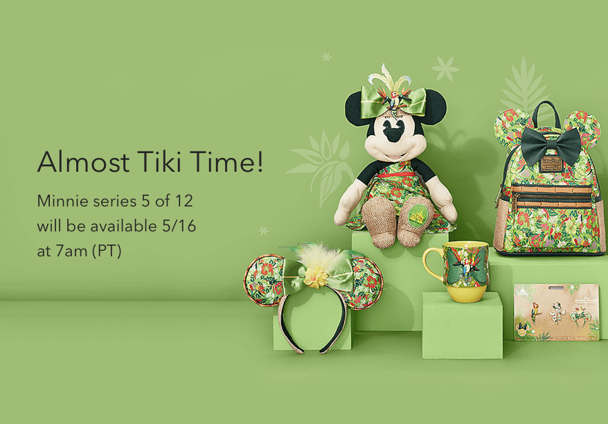 May 2020 - Minnie Mouse Enchanted Tiki Room Collection
