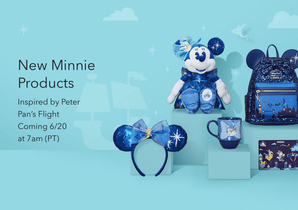 June 20, 2020 at 7AM - Minnie Mouse Peter Pan's Flight Collection
