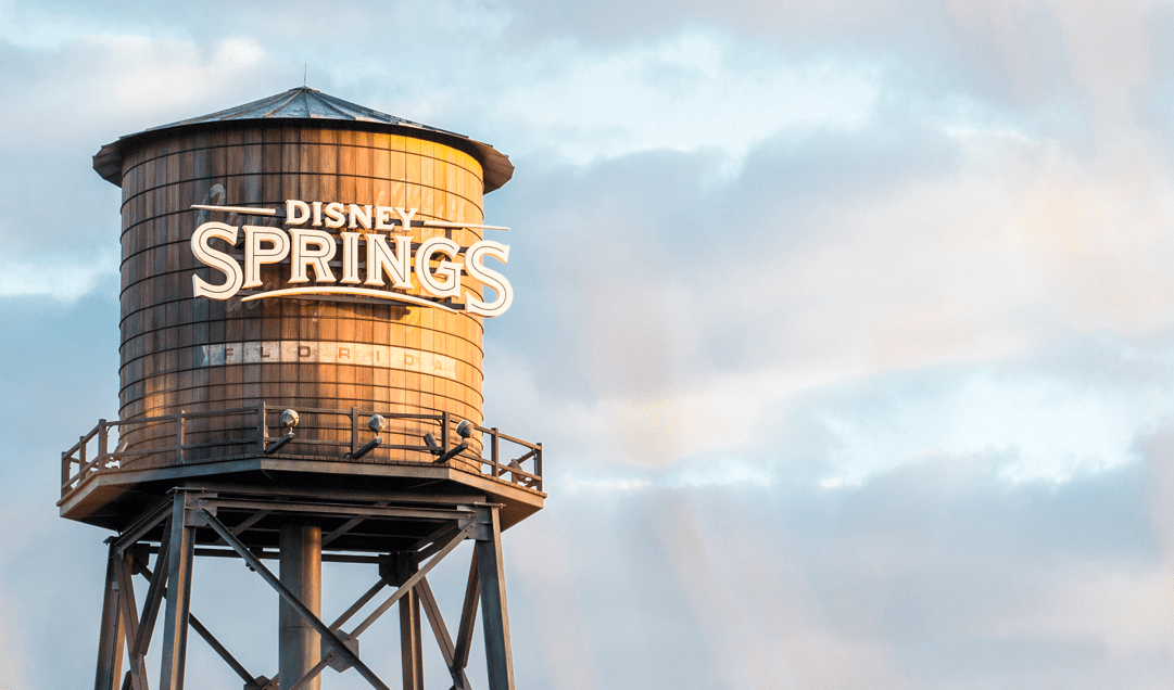 Disney Springs Florida Signage Photo [Source: Disney Springs]
