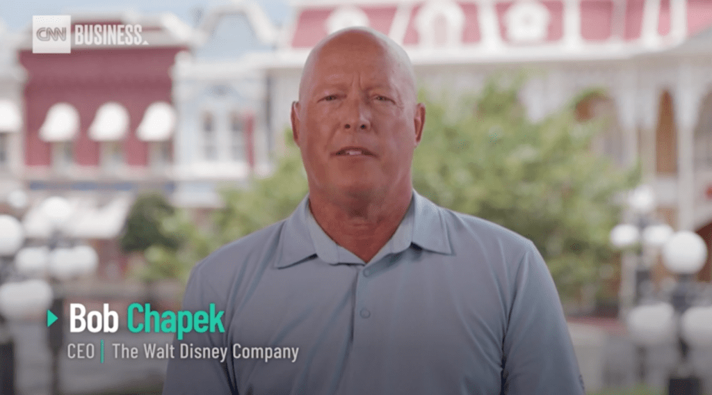 Disney CEO Bob Chapek Explains Why It's Safe to Reopen