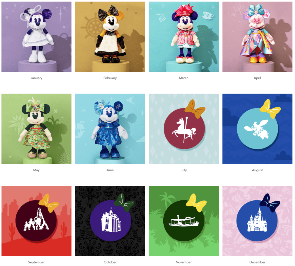 ShopDisney Minnie Mouse the Main Attraction Full Collection 2020