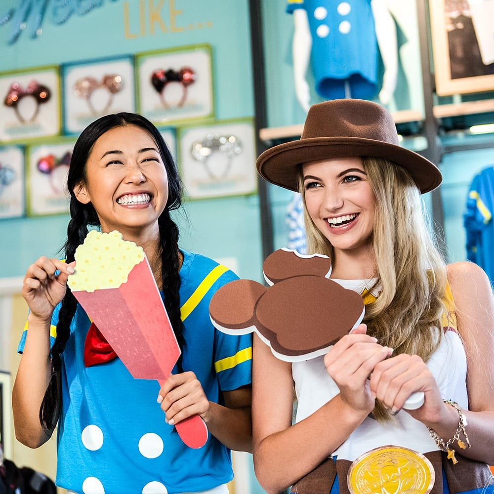 Happy Faces at Disney Springs Reopening [Source: Disney Springs]