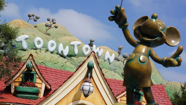 Mickey's Toontown in Disneyland Park [Source: Disneyland]