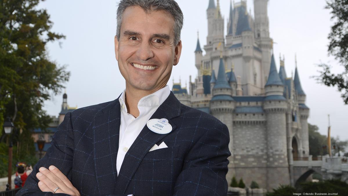 Josh D'Amaro at Walt Disney World [Source: Orlando Business Journal]