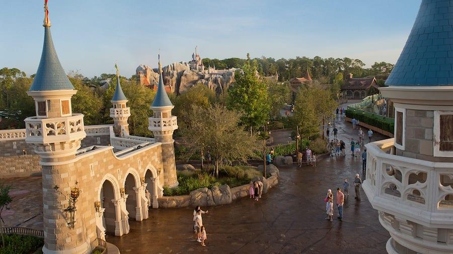 Aerial Shot of Fantasy Land [Source: Disney World]