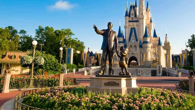 A photo of the Magic Kingdom Park [Source: Disney World]